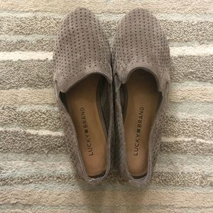 Lucky Brand Carthy Loafer Gray Size 6.5